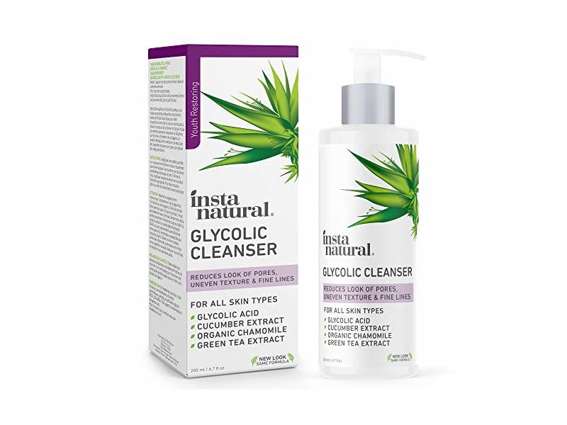 Insta Natural Glycolic Cleanser, 6.7 fl oz/200 mL