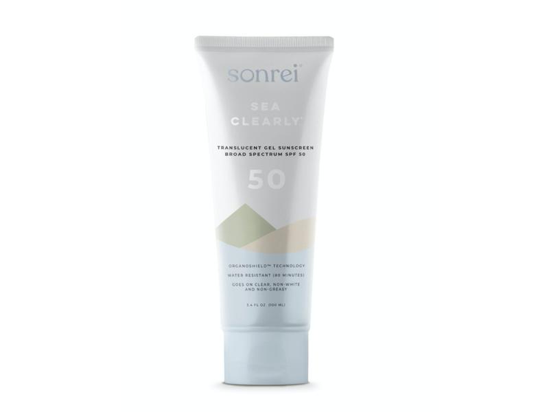 Sonrei Sea Clearly Gel Sunscreen, SPF 50, 3.4 fl oz