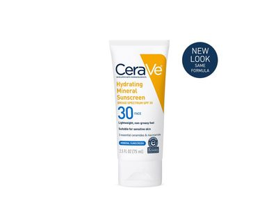 CeraVe Hydrating Sunscreen SPF30 Face Lotion