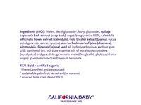 California Baby Eucalyptus Ease Shampoo and Body Wash 8.5 oz. - Image 6