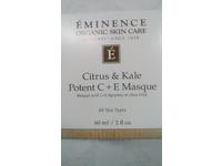 Eminence Organic Citrus & Kale Potent C Plus E Masque, 2 Ounce - Image 3