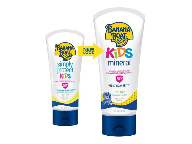 Banana Boat Simply Protect Kids Sunscreen Lotion SPF 50+