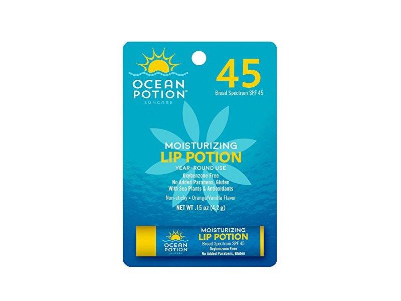 Ocean Potion Moisturizing Lip Lotion SPF 45, 0.15 Ounce