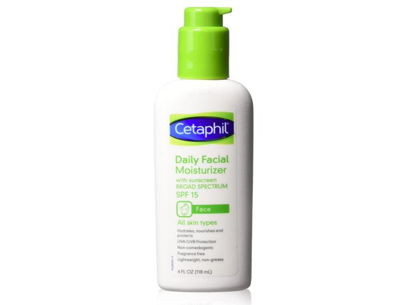 Cetaphil Daily Facial Moisturizer, SPF 15, 120 ml