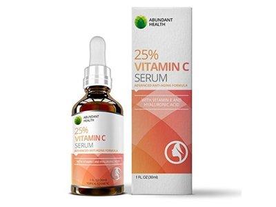 Abundant Health 25% Vitamin C Serum, 1 fl oz