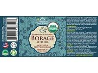 US Organic Borage seed Oil, 2 fl oz - Image 3