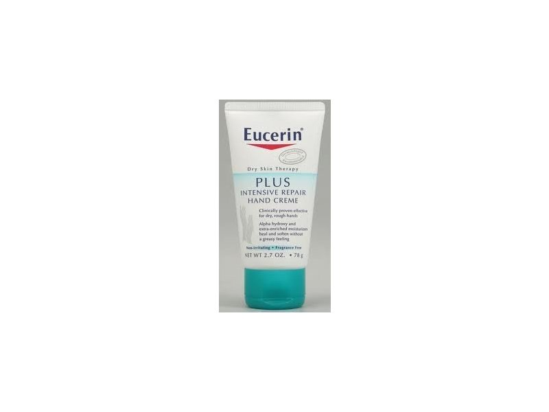 Eucerin Plus Intensive Repair Hand Creme, 2.7 oz