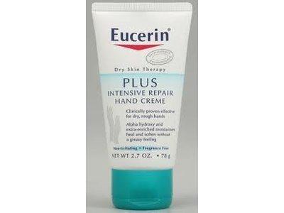Eucerin Plus Intensive Repair Hand Creme, 2.7 oz