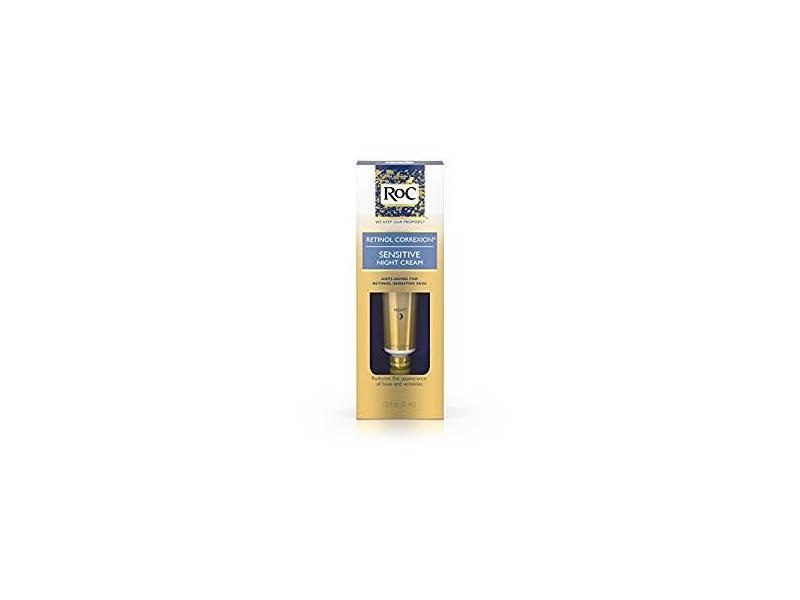 RoC Retinol Correxion Anti-Aging Sensitive Skin Night Cream, 1 oz
