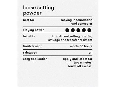 Dermablend Professional Loose Setting Powder - Original (0.18 oz.) - Image 5
