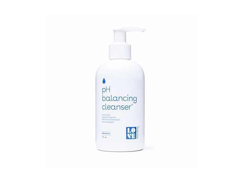Love Wellness pH Balancing Cleanser, 7 fl oz