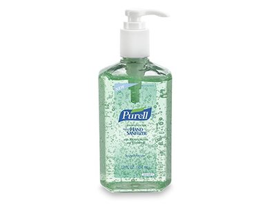 PURELL Advanced Instant Hand Sanitizer with Aloe, 12 oz Bottle