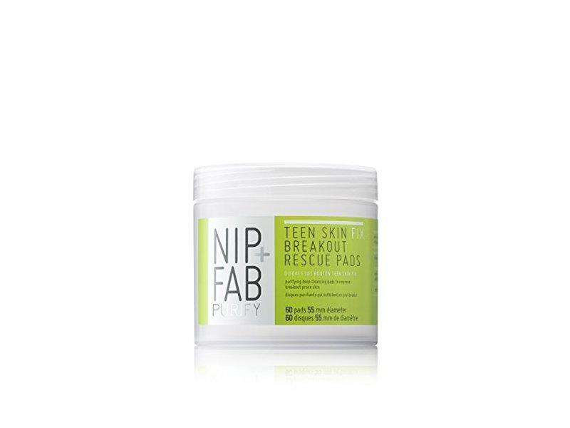 Nip + Fab Purify Teen Skin Fix Breakout Rescue Pads, 60 Count