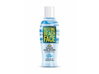 Fiesta Sun Resting Beach Face Flawless Facial Bronzer, 2 fl oz/58.1 mL