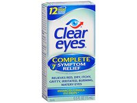 Clear Eyes Complete 7 Symptom Relief Eye Drops, 0.5 oz - Image 2