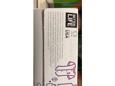 Better Life Dryer Sheets, Lavender Grapefruit, 80 Count, 2422 - Image 10