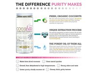 Coconut Oil for Hair & Skin By COCO&CO. Beauty Grade 100% RAW (8oz) - Image 2