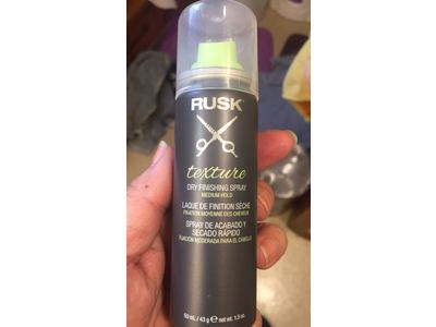 Rusk Texture Dry Finishing Spray, Medium Hold, 1.5 oz