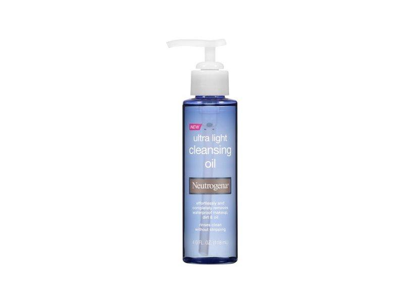 Neutrogena Ultra Light Cleansing Oil, 4.0 fl oz