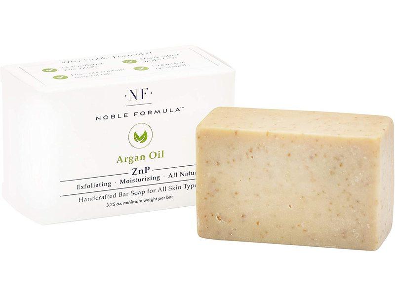 Noble Formula Znp Handcrafted Bar Soap, Argan Oil, 3.25 oz