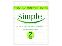 Simple Pure Soap Bar for Sensitive Skin, 125g - Image 2