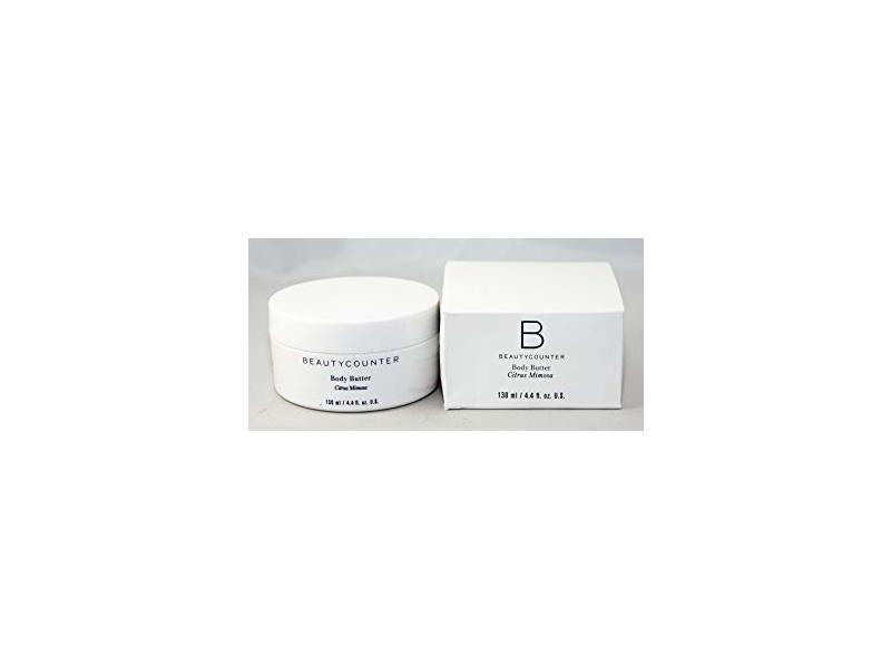 BeautyCounter Body Butter, Citrus Mimosa, 4.4 oz