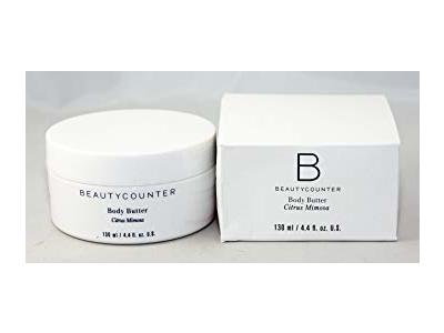 BeautyCounter Body Butter, Citrus Mimosa, 4.4 oz