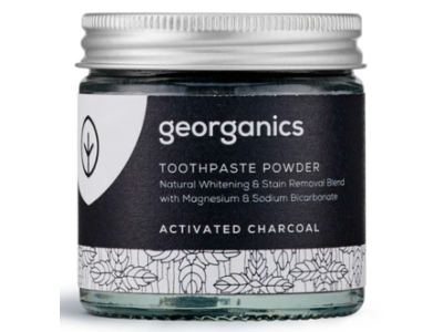 Georganics Toothpaste Powder, Activated Charcoal, 60 ml