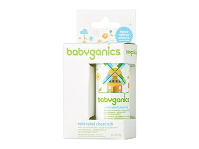 BabyGanics Say Aahhh! Cold Relief Chest Rub Stick - Image 1