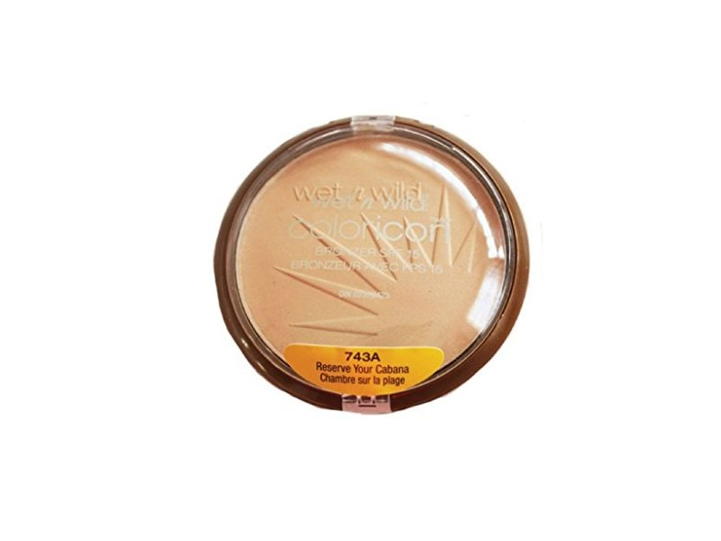 Wet N Wild Color Icon Bronzer, Reserve Your Cabana Spf 15, .46 oz