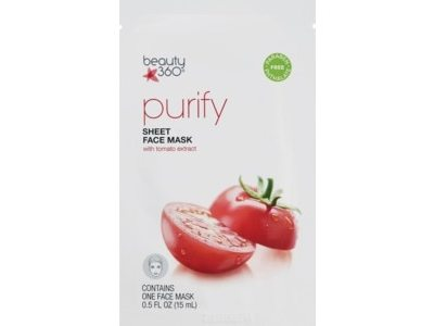 Beauty 360 Hydrating Purifying Tissue Facial Mask