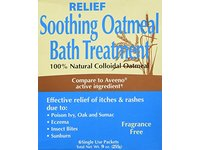 Relief MD Soothing Colloidal Oatmeal Bath Treatment - 6 Single Use Packets - Image 2