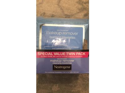 Neutrogena Makeup Removing Wipes, 25 Count, Twin Pack - Image 5