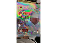 SooAE Red Wine Anti-Aging Hologram Mask, 0.88 oz - Image 3