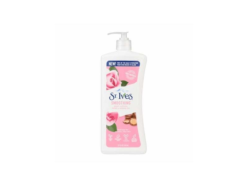 St. Ives Smoothing Rose & Argan Oil Body Lotion, 21 fl oz