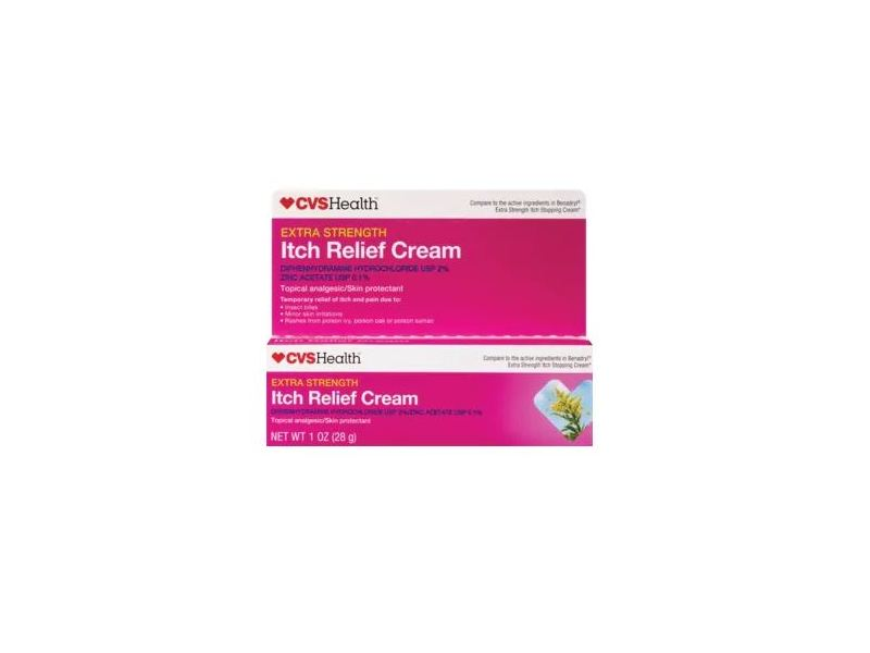 Cvs Health Extra Strength Itch Relief Cream 1 Oz