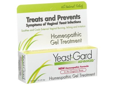 Yeastgard Advanced Homeopathic Gel, 1-Ounce Boxes (Pack of 3)