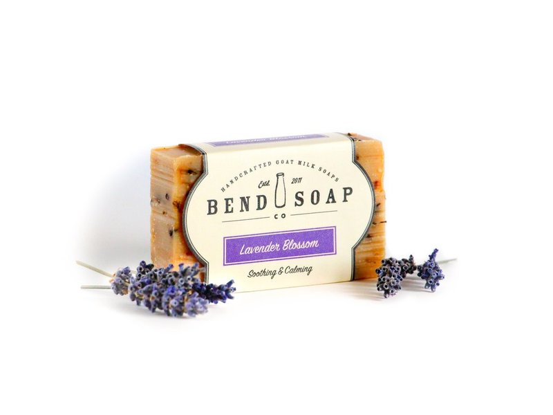 Bend Soap Company Lavender Blossom Goat Milk Soap, 4.5 oz