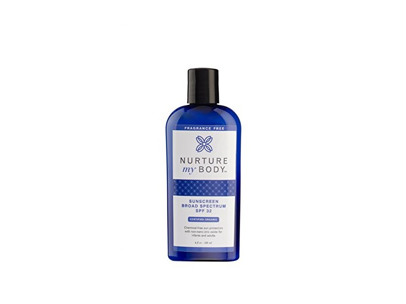 Nurture My Body Organic Sunscreen SPF 32