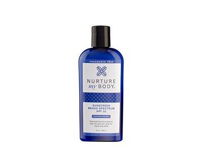 Nurture My Body Organic Sunscreen SPF 32 - Image 1