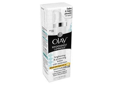 Olay Regenerist Luminous Brightening and Protecting Lotion with SPF 15 Fragrance-Free, 1.7 Fluid Ounce - Image 7