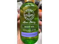 Bath & Body Works Body Oil, Acai Berry, 6 fl oz - Image 3