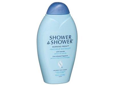 Shower to Shower Absorbent Body Powder, Morning Fresh, 13 oz