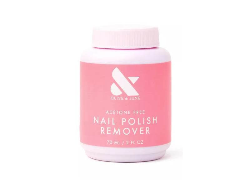 Olive & June Acetone Free Nail Polish Remover, 2 fl oz / 70 ml