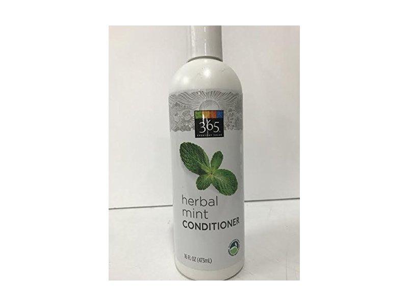 365 Everyday Value Herbal Mint Conditioner, 16 fl oz (473mL)
