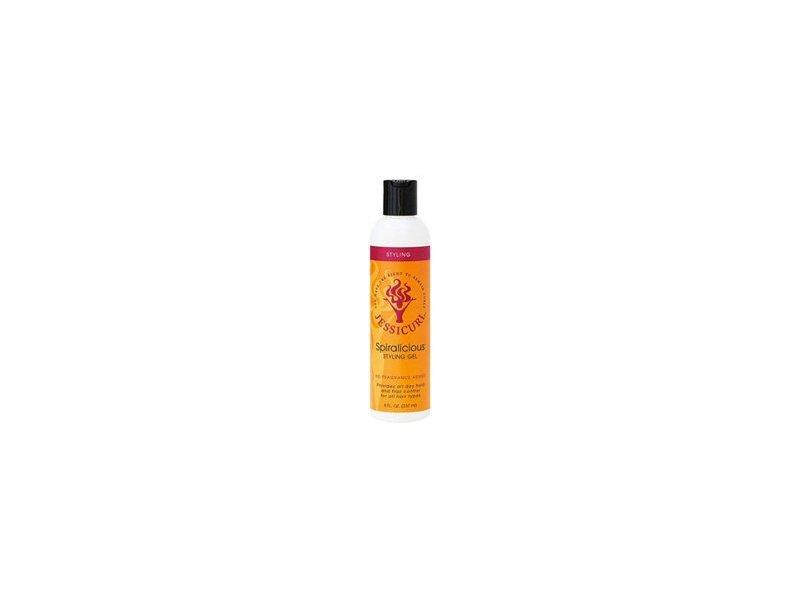 Jessicurl Spiralicious Styling Gel, No Fragrance Added, 8 fl oz