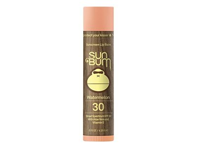 Sun Bum Sunscreen Lip Balm, Watermelon, SPF 30, .15oz