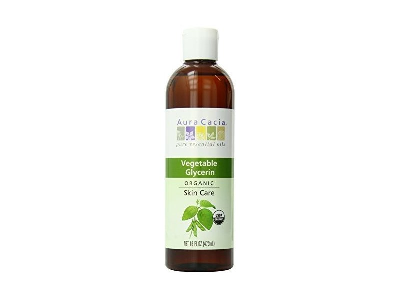 Aura Cacia Skin Care Oil Organic Vegetable Glycerin Oil, 16 fl oz