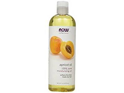 NOW Solutions Apricot Kernel Oil, 16 oz - Image 1