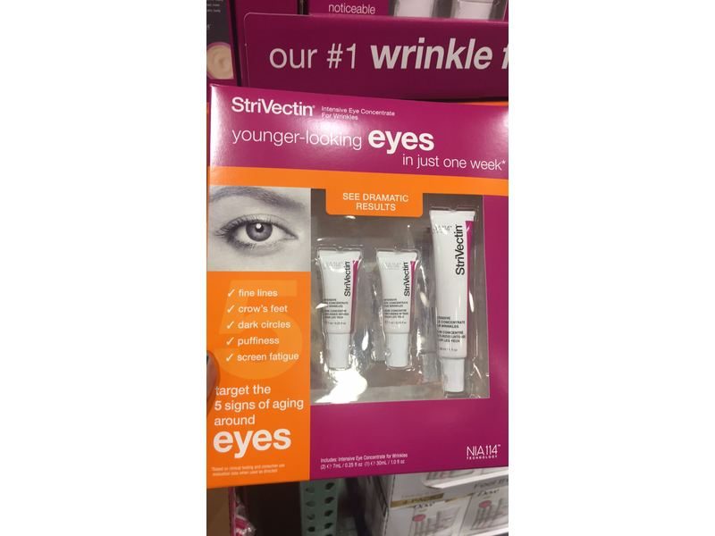 StriVectin Intensive Eye Concentrate for Wrinkles (3 pack)